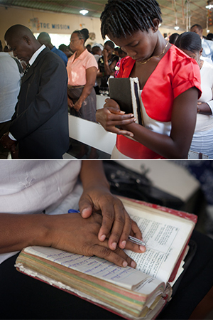 Bible Distribution