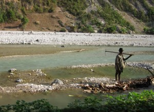 Creek in Haiti